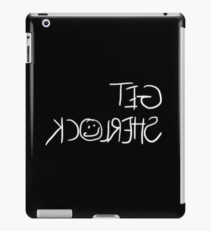 Get Sherlock Reflection in White iPad Case/Skin