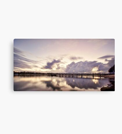 Bay of Reflections - Canada Bay, NSW Canvas Print