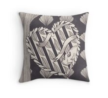 Evergreen (b/w version) Throw Pillow