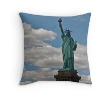 Rising Above the Clouds Throw Pillow
