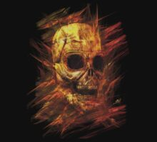Skeleton in Flames by Carol and Mike Werner