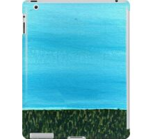 It's a beautiful day ~ Sky and Grass iPad Case/Skin