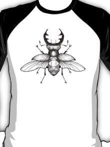 Geometric Stagbeetle T-Shirt