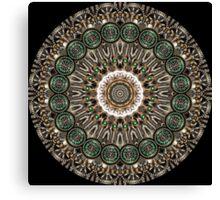 Clockwork Kaleidoscope 02 Canvas Print