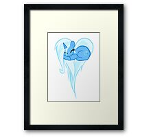 Trixie Heart Pony Framed Print