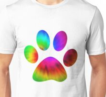 Rainbow Paw Unisex T-Shirt