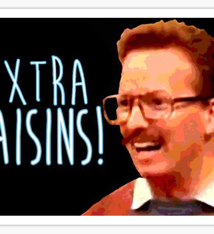 Gary: Extra Raisins Sticker