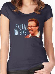Gary: Extra Raisins Women's Fitted Scoop T-Shirt
