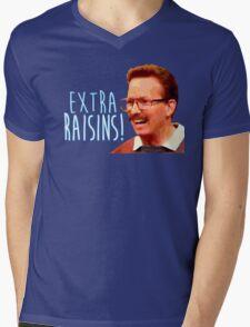 Gary: Extra Raisins Mens V-Neck T-Shirt
