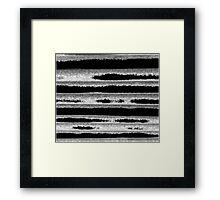 Abstract  Stripes Framed Print