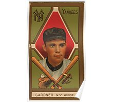 Benjamin K Edwards Collection Earl Gardner New York Yankees baseball card portrait Poster