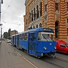 Blue tram by rasim1