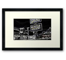 A Charley Brown Storm Chase 3 Framed Print