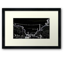 A Charley Brown Storm Chase 8 Framed Print