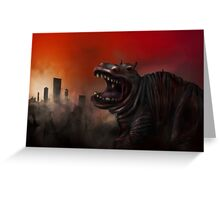 Cities On Flame Greeting Card