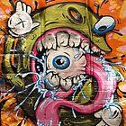 Street Art. Rutledge Lane. by John Sharp