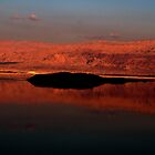Fired Dead Sea by Marius Brecher