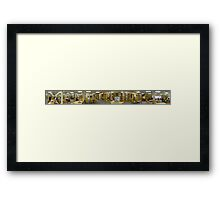 The Library Framed Print
