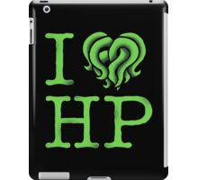 I HEART HP LOVECRAFT iPad Case/Skin