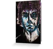 Brett Whiteley blue Greeting Card