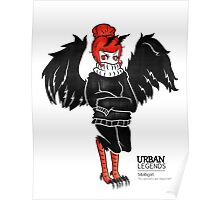Mothgirl by Sarah Pinc Poster