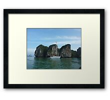 THE HONGS THAILAND ON RED BOOMER II Framed Print