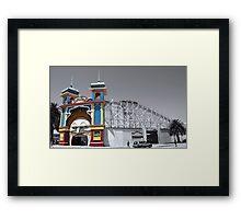Luna Park Framed Print