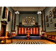 Masonic Hall At Beamish Photographic Print