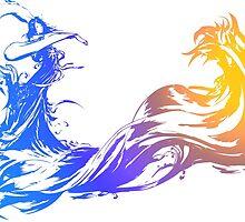 Final Fantasy 10 logo X by Geekstuff