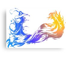 Final Fantasy 10 logo X Canvas Print