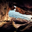 Rock hole by Adriano Carrideo
