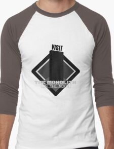 The Moon Monolith Men's Baseball ¾ T-Shirt