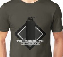 The Moon Monolith Unisex T-Shirt