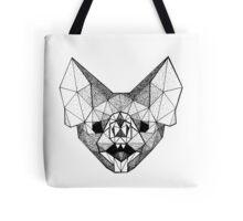 Geometry Bat Tote Bag