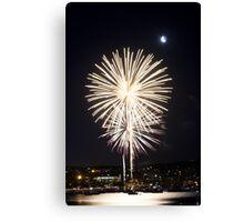 Fireworks - Port Lincoln Tunarama 2012 [3 of 6] Canvas Print