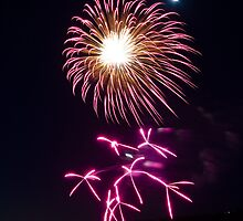 Fireworks - Port Lincoln Tunarama 2012 [4 of 6] by Ben Scholz