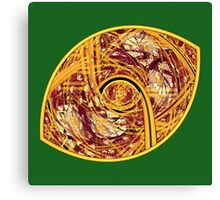 Redskin Football Canvas Print