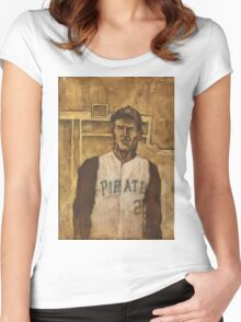 Roberto Clemente Women's Fitted Scoop T-Shirt