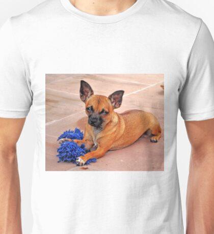 BUTTON BUTTON WHOSE GOT THE BUTTON Unisex T-Shirt