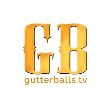 Gutterballs Monogram - Gold by guttercast