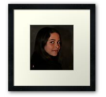 """"""" Look out modeling world , here comes Kacie """" Framed Print"""