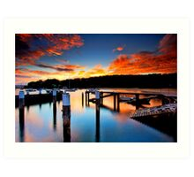 Balmoral Sunrise Art Print