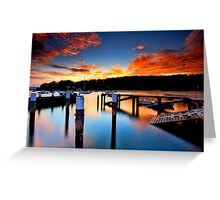 Balmoral Sunrise Greeting Card