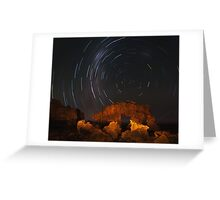 Bridgewater Bay Startrails Greeting Card
