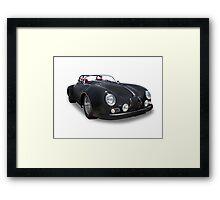 Porsche Volkswagen - 356 Coupe Framed Print