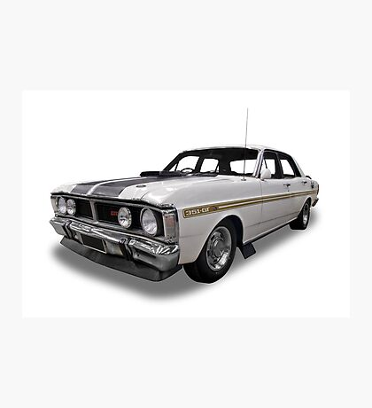 Ford - XY GT Falcon Photographic Print
