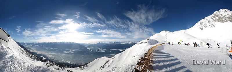 Innsbruck Alps by David Ward
