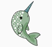 Polka Dot Narwhal by Lula June