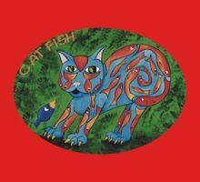 Cat Fish Tee Kids Clothes