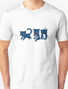 Tardis Cats and Sonic Devices T-Shirt